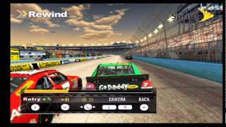 NASCAR 2011: The Game Wii Footage