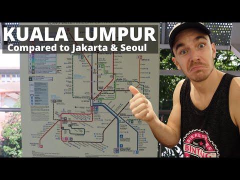 Kuala Lumpur's Trains & Public Transport (LRT, Monorail)