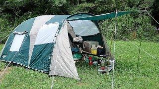 今回は頂いたCAPTAIN STAG M-3133ツールームドームテントと缶ストーブを...