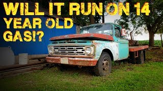 Will An ABANDONED Truck Start After 14 Years?