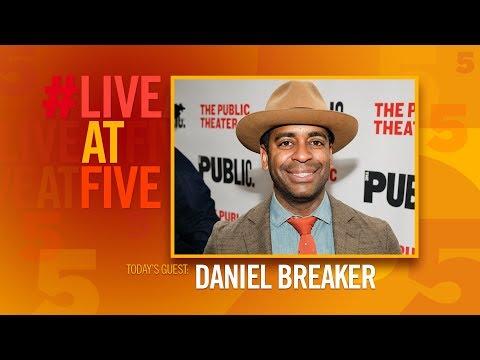 Broadway.com LiveatFive with Daniel Breaker of HAMILTON