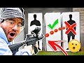 DONT Hit the Person in the Mystery Box Challenge!! (Paintball Edition)