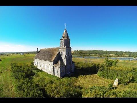 Battle of Fish Creek, Northwest Rebellion Saskatchewan River FPV Aerial Video
