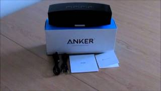 anker a3143 bluetooth speaker unboxing