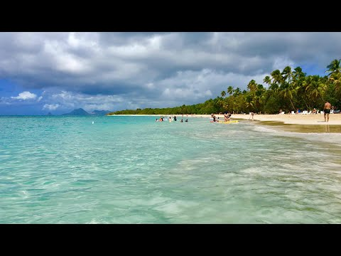 Best Beaches on la Martinique, Caribbean Sea (Caraïbes)