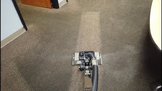 """Satisfying EXTREMELY dirty factory carpet cleaning with 15"""" Zipper"""