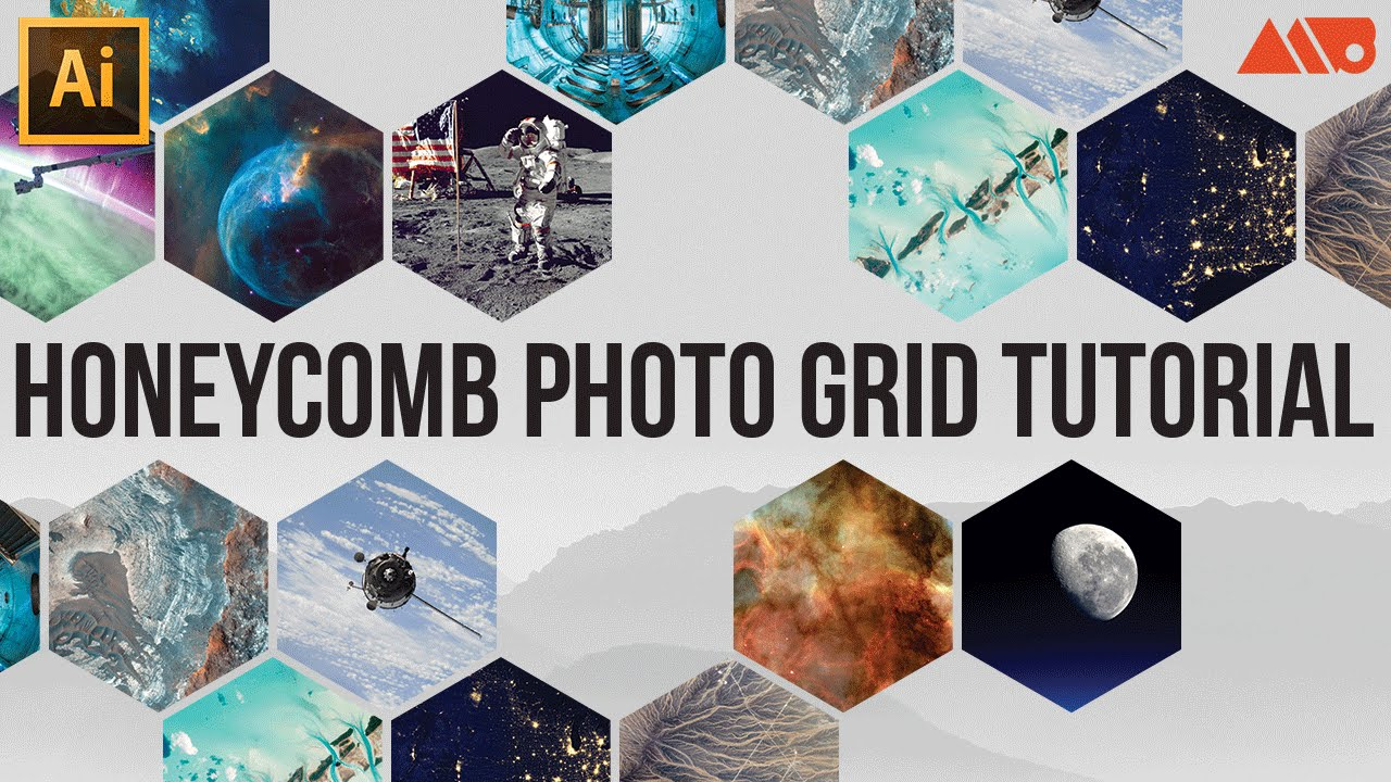 How To Make A Honeycomb Photo Grid In Adobe Illustrator