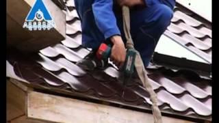Как правильно положить металлочерепицу: способы укладки (видео)