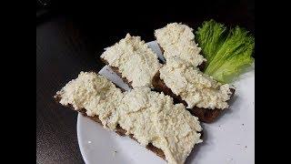 Cалат  із плавлених сирків / Салат  из плавленых сырков