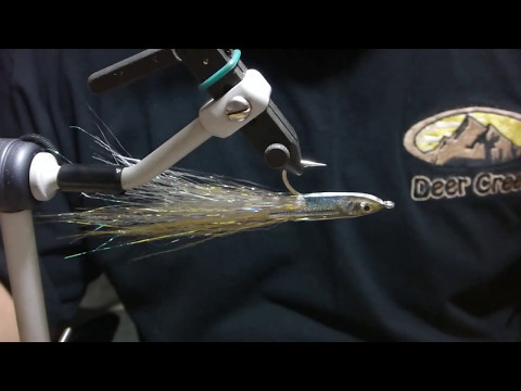 Fly Tying: Deer Creek Silverside Surf Candy by Smart Flies