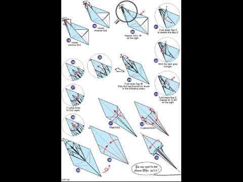 Origami Rat Diagrams Eric Joisel Youtube