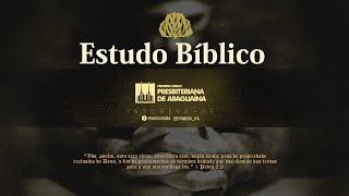 ESTUDO BÍBLICO - 29/10/2020