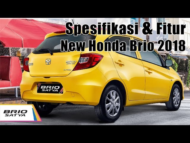 New Honda Brio 2018 - Spesifikasi Fitur Lengkap