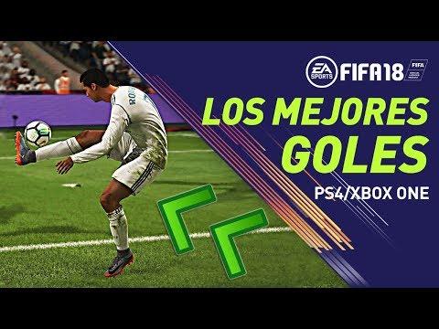Los MEJORES GOLES de FIFA 18!!! [FIFAGamers]