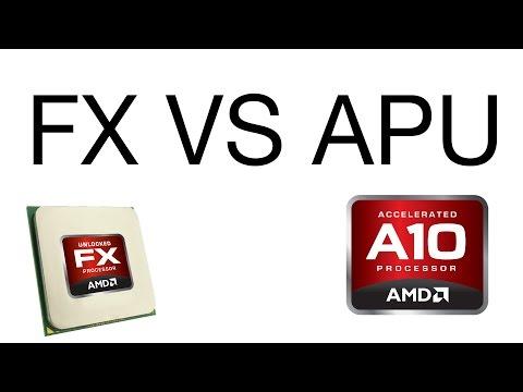 AMD APU Vs AMD FX