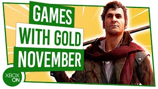 Xbox Games With Gold | November 2019