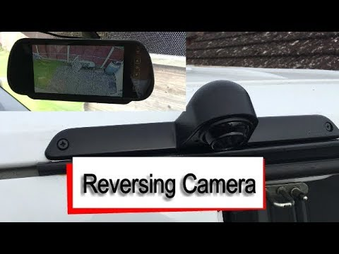 Mercedes Sprinter - Rear View Camera Install - YouTubeYouTube