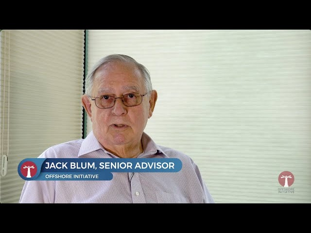 On Lost Tax Revenue: Jack Blum, Senior Advisor, Offshore Initiative