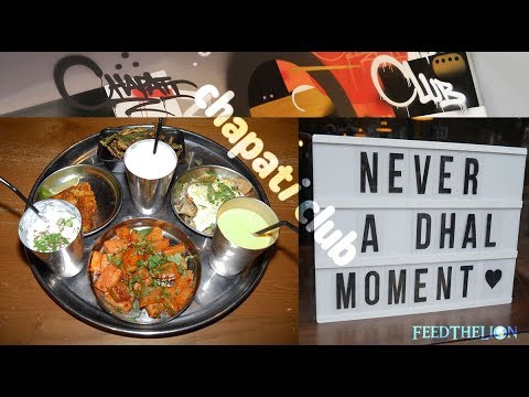 Chapati Club Halal Indian Restaurant In Acton London Youtube