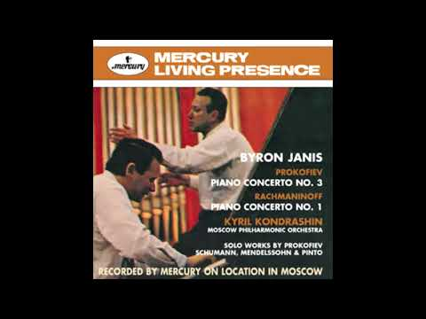 RACHMANINOV: Piano Concerto No. 1 F sharp minor op. 1 / Janis · Kondrashin