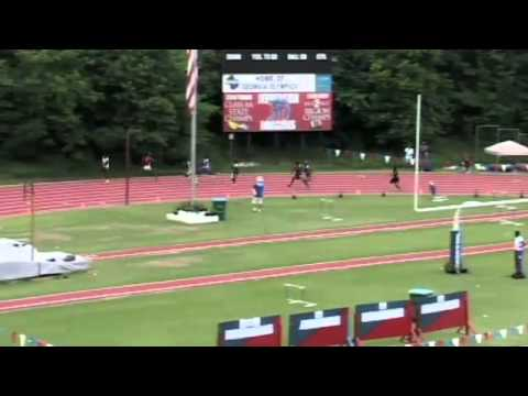 Tyreek Hill Of Coffee Co. Breaks Sub 20s At 2012 GHSA Track
