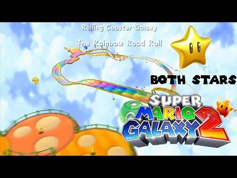 Super Mario Galaxy 2: Secret World S - Rolling Coaster ...