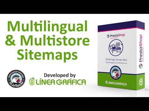 prestashop module multilingual and multistore sitemap generator