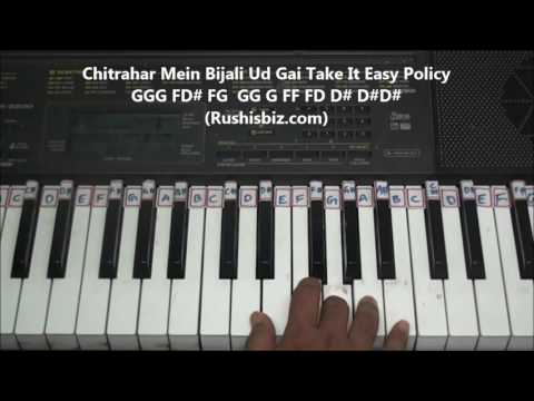 Urvasi Urvasi - Piano Tutorials (Hindi) - Rushisbiz | 7013658813 - PDF NOTES/BOOK - WHATS APP US
