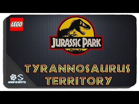 Lego Jurassic World - Tyrannosaurus Territory Hub Area All Gold Bricks All Challenges