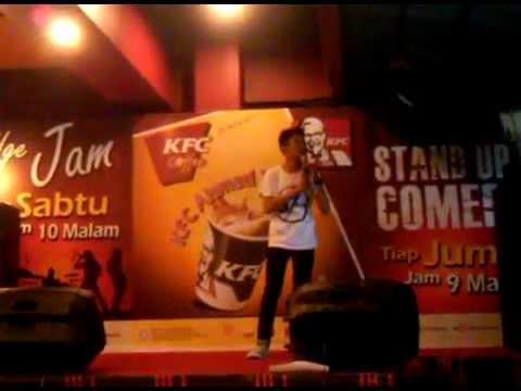 Standup Comedy Pontianak Indonesia Open Mic @hendrisayuti @standupptk