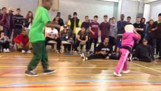 vuclip AJ The Cypher Cat vs B-Girl Terra Final @King of The B-Boys