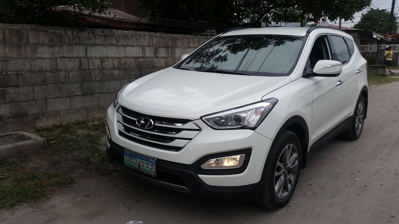 2013 Hyundai Santa Fe 2.2L GL ReVGT 2wd Review (Interior, Exterior, Engine)    YouTube