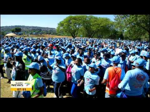 Dr Prophet Samuel Radebe  on RCG Health Walk