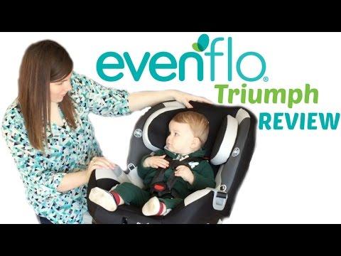 Evenflo Triumph car seat review