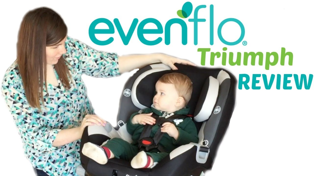 Evenflo Triumph car seat review
