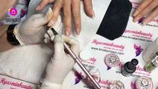 Kırık tırnak nasıl onarılır ?  | Yeni yöntem |Fuison Acryl Jel