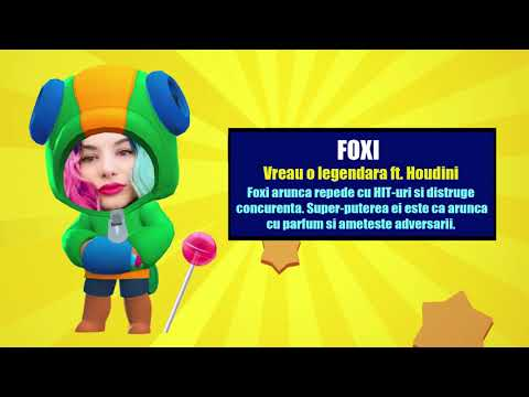 EZY Foxi - Vreau O Legendara Ft  Houdini (Imnul Brawl Stars)