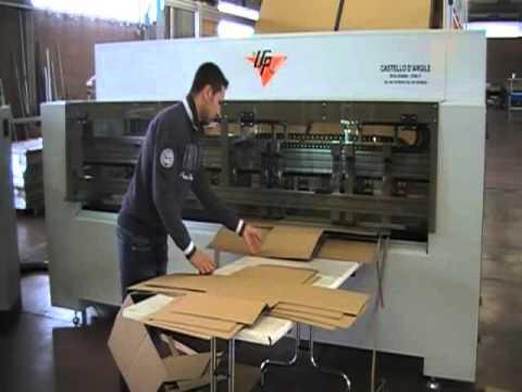 LCR Modular Станок для изготовления коробок из гофрокартона