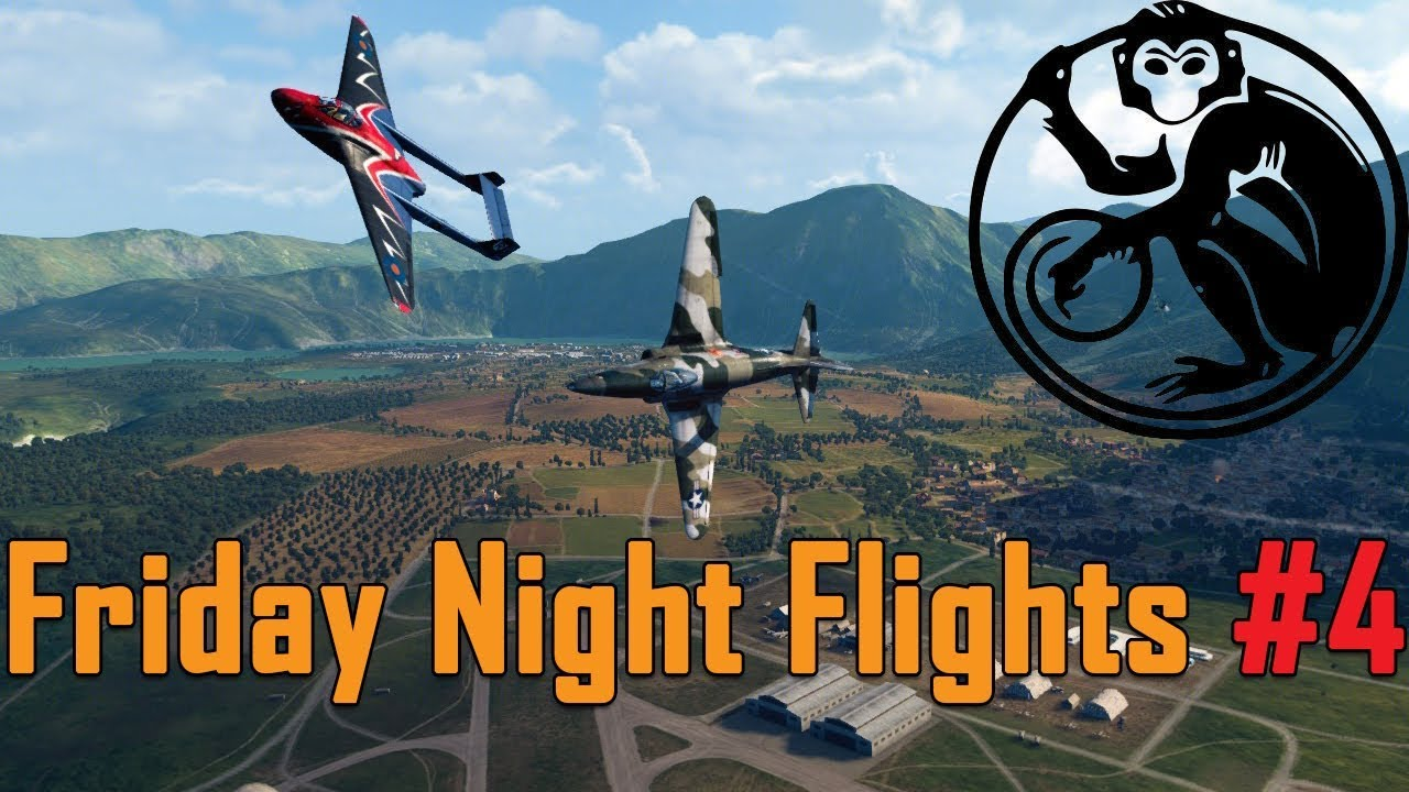 World of Warplanes - Friday Night Flights #4 | With our powers combined...
