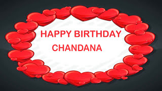 Chandana   Birthday Postcards & Postales - Happy Birthday
