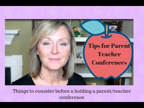Parent Teacher Conference tips for Preschool/Daycare