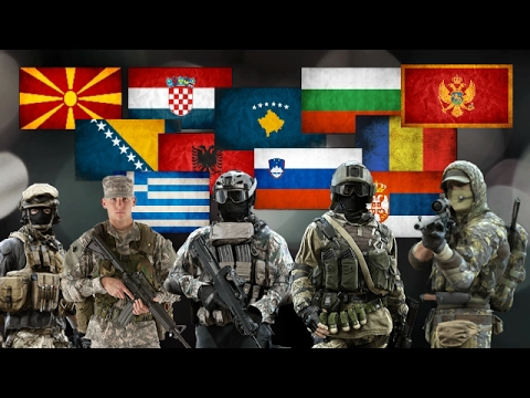 How Powerful is Balkan ? Modern Balkan Military Power 2017