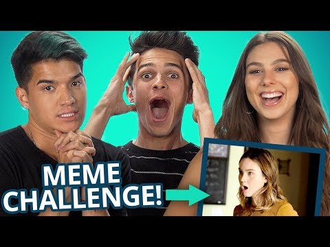 LIGHT AS A FEATHER MEME CHALLENGE w/ Brent Rivera, Alex Wassabi and the Stokes Twins