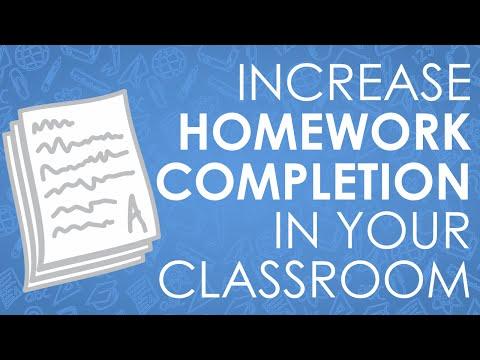 Students Not Doing Their Homework? 2 Helpful Tips For Teachers!
