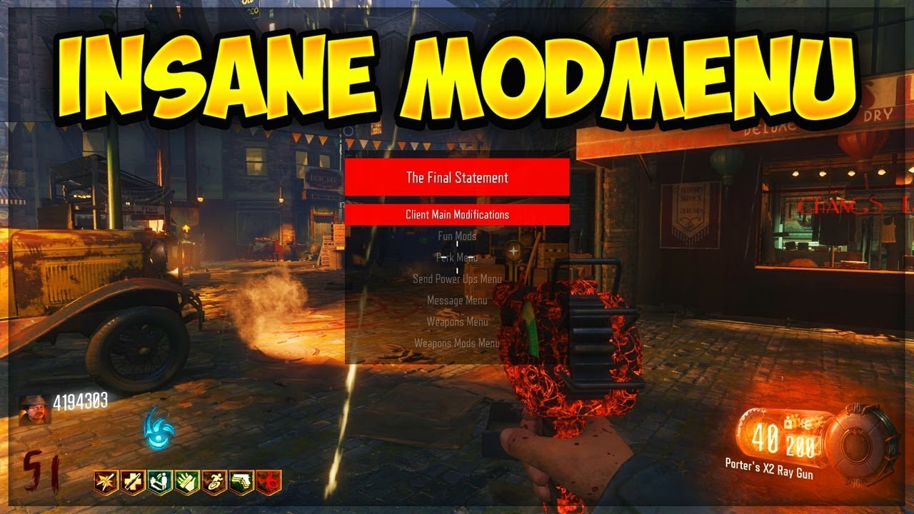 Cod Black Ops 3 Zombie Trainer Mods V2 Xbox 360 Download Youtube