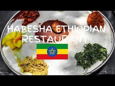 😍😍HABESHA ETHIOPIAN RESTAURANT/MY FIRST TIME TRYING  ETHIOPIAN CUISINES!!