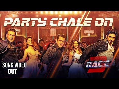 Party Chale On Song Video - Race 3 | Salman Khan | Mika Singh, Iulia Vantur | Vicky, Hardik