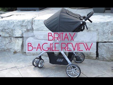 NEW! 2016 Britax B-Agile Stroller Review