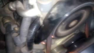 Шум автоматического гидронатяжителя ремня ГРМ Mitsubishi,  6G72