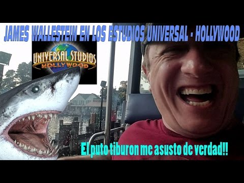 James Wallestein en los Estudios Universal - Universal studios - Hollywood - California